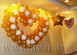 Воздушные шары: оформление торжеств и мероприятий